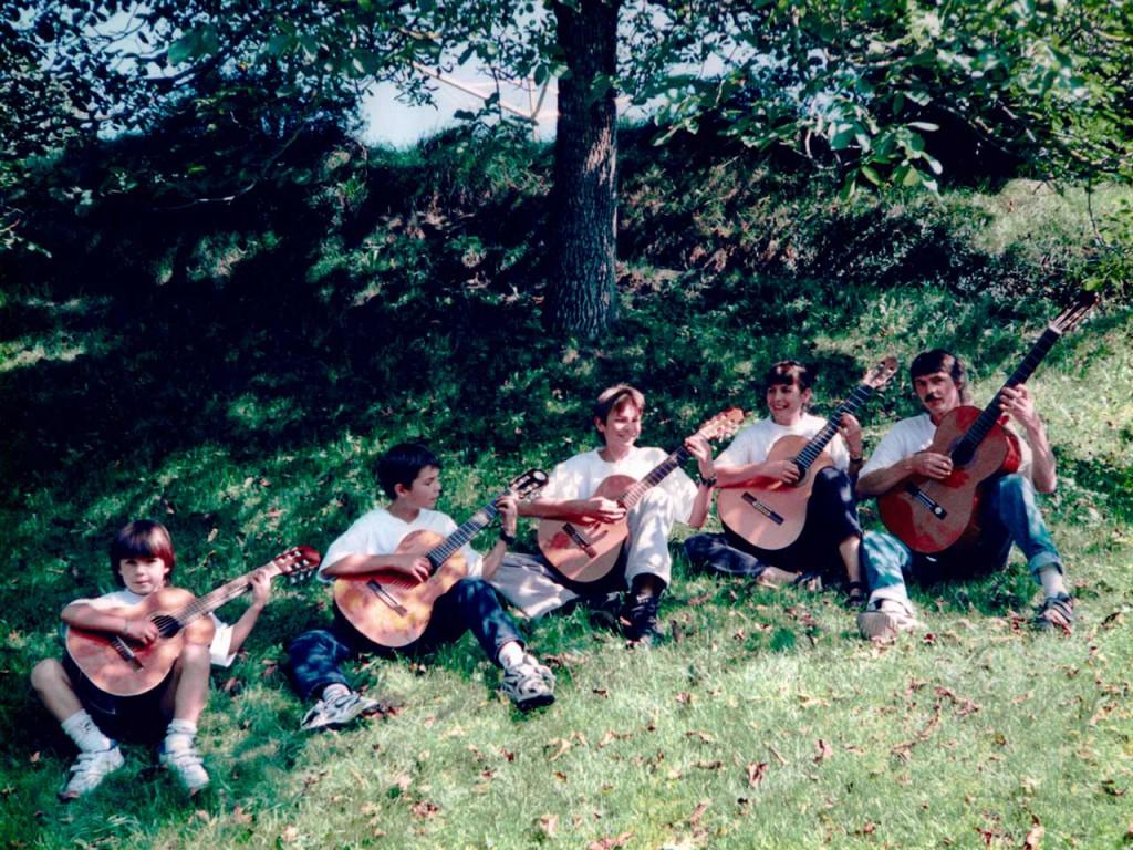 Familie Schär vor rund 13 Jahren