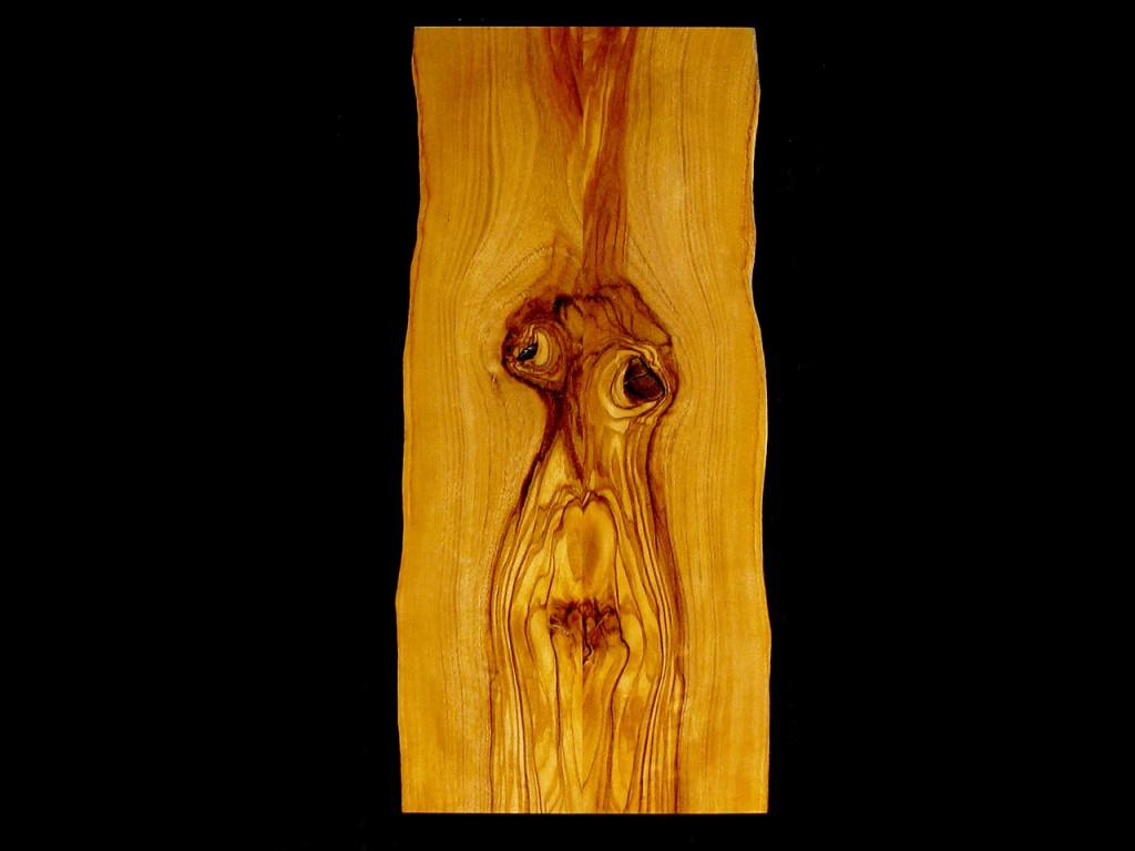 Olivenholz Gesicht